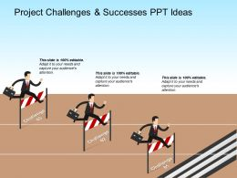 Project Challenges And Successes Ppt Ideas