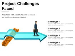 Project Challenges Faced Ppt Inspiration
