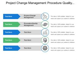 Project Change Management Procedure Quality Management Performance Metric System