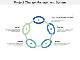Project Change Management System Ppt Powerpoint Presentation Styles Layouts Cpb