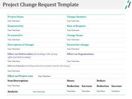 Project Change Request Template Ppt Slide Styles