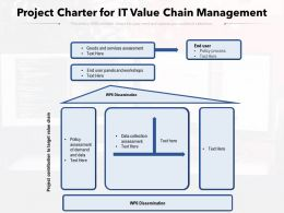 Project Charter For IT Value Chain Management