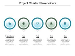 Project Charter Stakeholders Ppt Powerpoint Presentation Outline Images Cpb
