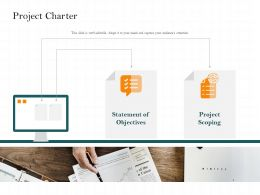 Project Charter Statement M2489 Ppt Powerpoint Presentation Guidelines