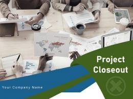 Project Closeout Project Circular Document Implementation Review Techniques Successful Organizational