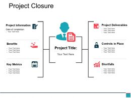 Project Closure Ppt Samples Download