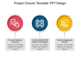 Project Closure Template Ppt Design
