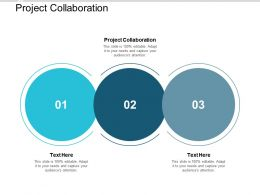 Project Collaboration Ppt Powerpoint Presentation Model Smartart Cpb