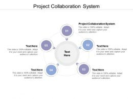 Project Collaboration System Ppt Powerpoint Presentation Icon Guide Cpb