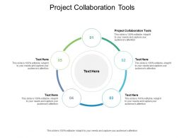 Project Collaboration Tools Ppt Powerpoint Presentation Model Inspiration Cpb