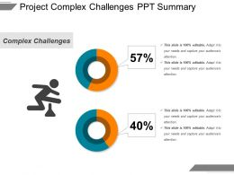 Project Complex Challenges Ppt Summary