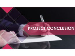 Project Conclusion Powerpoint Presentation Slides