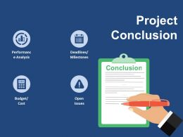 Project Conclusion Ppt Ideas Graphics Pictures