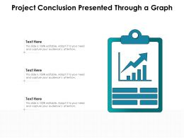 Project Conclusion Presented Through A Graph