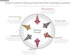 Project Conference Planning Powerpoint Slide Presentation Examples
