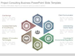 Project Consulting Business Powerpoint Slide Template