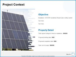 Project Context Ppt Powerpoint Presentation Icon Example Topics