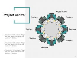 Project Control Ppt Powerpoint Presentation File Design Ideas Cpb
