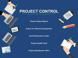 Project Control Ppt Styles Slide