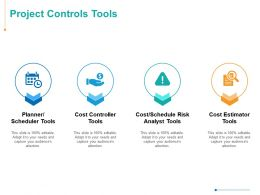 Project Controls Tools Ppt Powerpoint Presentation Inspiration Portfolio