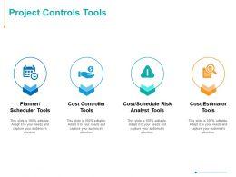 Project Controls Tools Ppt Powerpoint Presentation Inspiration Portfolio