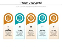 Project Cost Capital Ppt Powerpoint Presentation Layouts Clipart Cpb