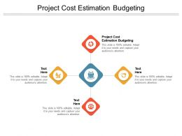 Project Cost Estimation Budgeting Ppt Powerpoint Presentation Gallery Cpb