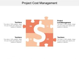 Project Cost Management Ppt Powerpoint Presentation Icon Themes Cpb