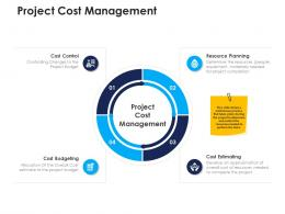 project cost management urban water management ppt sample