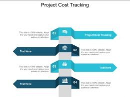 Project Cost Tracking Ppt Powerpoint Presentation Ideas Model Cpb