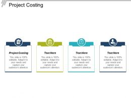 Project Costing Ppt Powerpoint Presentation File Design Ideas Cpb