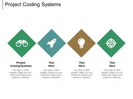 Project Costing Systems Ppt Powerpoint Presentation File Background Designs Cpb