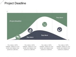 Project Deadline Ppt Powerpoint Presentation File Themes Cpb