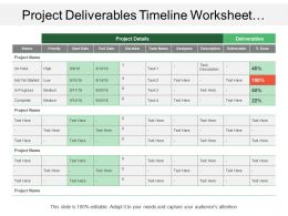 project_deliverables_timeline_worksheet_showing_project_status_and_deliverables_Slide01