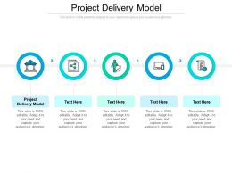 Project Delivery Model Ppt Powerpoint Presentation Styles Inspiration Cpb