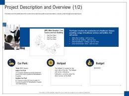 Project Description And Overview Budget Engagement Management Ppt Diagrams