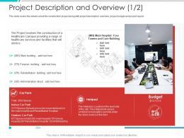 Project Description And Overview Core Project Engagement Management Process Ppt Slides