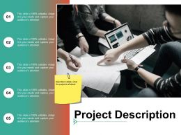 Project Description Planning Ppt Summary Example Introduction