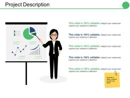 Project Description Ppt Infographics Influencers