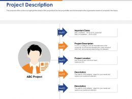 Project Description Ppt Powerpoint Presentation Gallery Objects