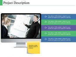 Project Description Ppt Powerpoint Presentation Model Backgrounds