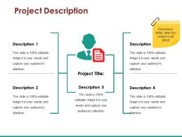 Project Description Ppt Templates