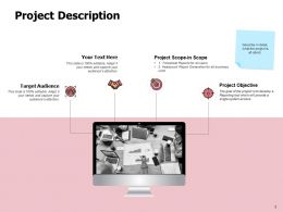 Project Description Target Audience Ppt Powerpoint Presentation Inspiration