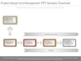 Project Design And Management Ppt Samples Download