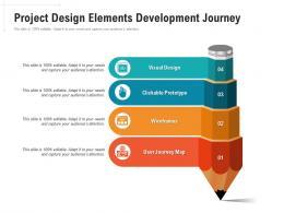 Project Design Elements Development Journey