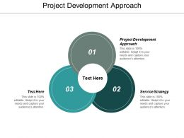 Project Development Approach Ppt Powerpoint Presentation Outline Demonstration Cpb