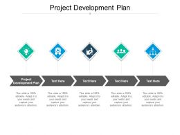 Project Development Plan Ppt Powerpoint Presentation Inspiration Graphic Tips Cpb
