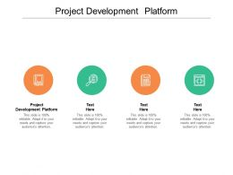 Project Development Platform Ppt Powerpoint Presentation File Files Cpb