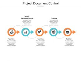 Project Document Control Ppt Powerpoint Presentation Infographic Template Elements Cpb