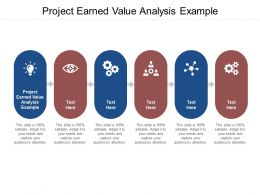 Project Earned Value Analysis Example Ppt Powerpoint Presentation Summary Infographics Cpb